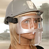 Face shield P4 type